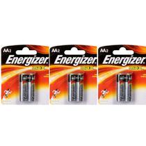 Energizer Pilha Alcalina Pequena AA C/2 (Kit C/03) -