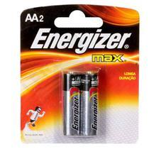 Energizer Pilha Alcalina Pequena AA C/2 -