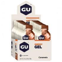Energy Gel - 24 Sachês 32g Caramelo - GU -