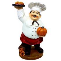 Enfeite chefe de cozinha decoração festa - Rota Do Click