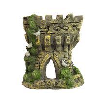Enfeite De Resina P/decoração Aquários Torre Castelo 96250 - Kares