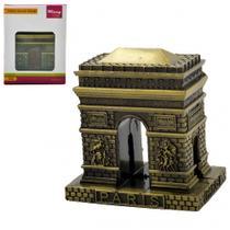 Enfeite Decorativo Miniatura Arco Do Triunfo Paris Em Metal - Wincy
