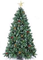 Enfeite Natal Árvore Porta Pinheiro Mini Guirlanda Kit 50 pçs - Pais E Filhos