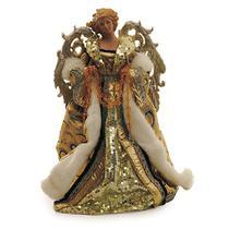 Enfeite Natal Decorativo Anjo de Resina Roupa Nude 40cm 1 Pç - Cromus