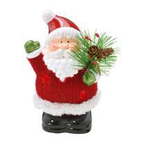 Enfeite Papai Noel 13cm So Alegria Espressione Christmas -