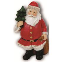 Enfeite Papai Noel em Resina NTD20001 - Rio de Ouro -