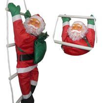 Enfeite Papai Noel Luminoso Escada Ntc2010  Wincy -