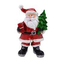 Enfeite Papai Noel Santa Claus 10cm Espressione Christmas -
