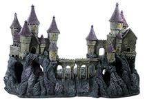 Enfeite Para Aquário Castelo Mau Assombrado - Aquária