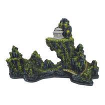 Enfeite Para Aquário Montanha Chinesa Pequena A - Aquária