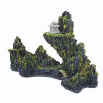 Enfeite Para Aquário Montanha Chinesa Pequena E25 A - Aquaria