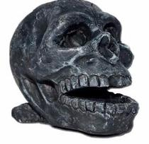 Enfeites Para Aquario Cranio Caveira Resina - Qian Hu