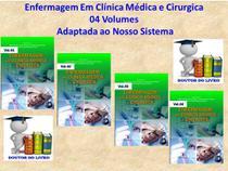 Enfermagem em Clinica Médica e Cirúrgica 4 Volumes - Editora Martinari