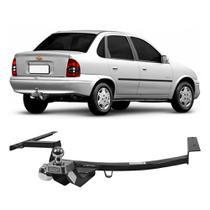 Engate Chevrolet Corsa Classic 1995 a 2010 DHF Reboque Rabicho Protetor Tração 500 KG -