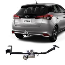 Engate Toyota Yaris Hatch 2018 a 2020 DHF Reboque Rabicho Protetor Tração 430 KG -
