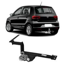 Engate Volkswagen Fox 2004 a 2019 DHF Reboque Rabicho Protetor Tração 400 KG -