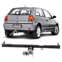 Engate Volkswagen Gol G2 1995 a 1998 DHF Reboque Rabicho Protetor Tração 500 KG -