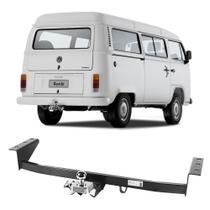 Engate Volkswagen Kombi 1997 a 2012 DHF Reboque Rabicho Protetor Tração 400 KG -