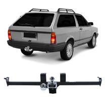 Engate Volkswagen Parati G1 1987 a 1995 DHF Reboque Rabicho Protetor Tração 400 KG -