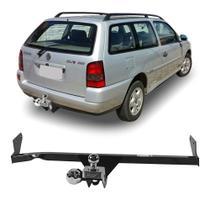 Engate Volkswagen Parati G2 1996 a 1999 DHF Reboque Rabicho Protetor Tração 400 KG -