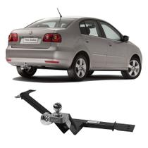 Engate Volkswagen Polo Sedan 2003 a 2014 DHF Reboque Rabicho Protetor Tração 500 KG -