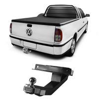 Engate Volkswagen Saveiro G2 1998 a 2000 DHF Reboque Rabicho Protetor Tração 400 KG -