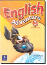 English Adventure Level 3 Activity Book - Longman