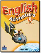 English adventure (plus) 5 wb - Pearson