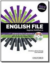 English file beginner multipack a sb with online practice  3rd ed. - Aleph -