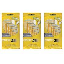 Enox Aparelho 2 Lâminas Descartável C/5 (Kit C/03) -