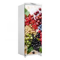 Envelopamento De Geladeira Porta Cachos De Frutas 150X60cm - Sunset Adesivos
