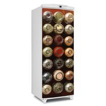 Envelopamento De Geladeira Porta Potinhos De Tempero 150X60cm - Sunset Adesivos