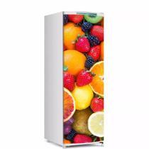 Envelopamento De Geladeira Porta Salada De Frutas Mod2 150X60cm - Sunset Adesivos