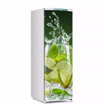 Envelopamento De Geladeira Porta Suco De Limão 150X60cm - Sunset Adesivos