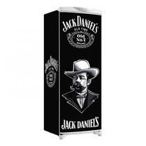Envelopamento De Geladeira Total Jack Daniels Coronel Lateral Logo 150X60cm - Sunset Adesivos