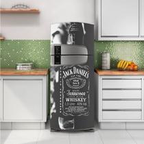 Envelopamento de Geladeira Whisky Jack Daniels Cinza - Casa Harmonia