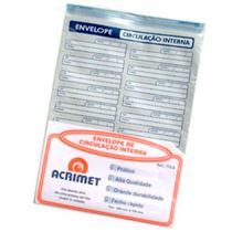 Envelope de Circulação Interna Acrimet Cx 50 Un -