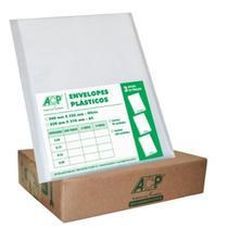Envelope Plástico 4 Furos Grosso ACP - 400 Unidades -