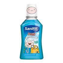 Enxaguatório Bucal Sanifill Adventure Time Tutti-Frutti 300ml -