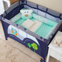 Enxoval para Berço Desmontável Juju Verde - Bruna Baby