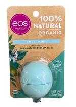 Eos Lip Balm Organic Sweet Mint Protetor Labial -