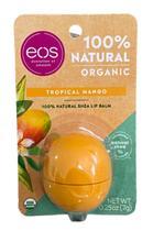 Eos Lip Balm Organic Tropical Mango Protetor Labial -