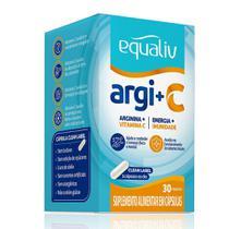 Equaliv Arginina + Vitamina C 30 Cápsulas -
