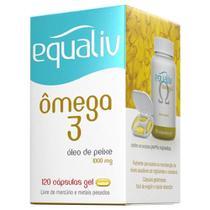 Equaliv Omega 3 1000mg 120 Cápsulas -