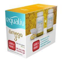 Equaliv Omega 3 1000mg Pack 180 Cápsulas Leve + Pague - -