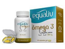 Equaliv Ômega 3 - Óleo de Peixe - 90 cápsulas (35022) -