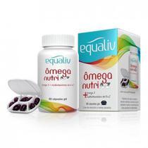 Equaliv Omega Nutri A-z c/ 60 Cápsulas Gel -