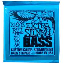 Ernie Ball - Encordoamento 040 Para Baixo Extra Slinky 2835 -