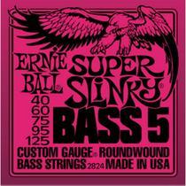 Ernie Ball - Encordoamento Para Baixo 5C Super Slinky 2824 -