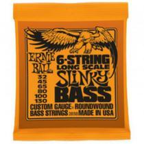 Ernie Ball - Encordoamento Para Contrabaixo 6C String Slinky Bass 2838 -